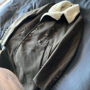 ZARA Green Winter Jacket